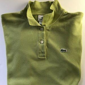 Green Lacoste Polo Shirt